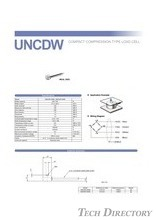 "COMPACT COMPRESSION TYPE LOAD CELL ""UNCDW"""