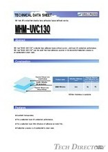 "NE-tak UV protection double face adhesive tapes tapes without carrier. ""MHM-UVC130"""