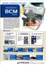 "Beveling Machine ""BCM Seires"""