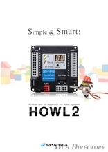 Arrester unit for automatic fire alarm systems:HOWL2