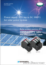 Power Supply ClassⅡ SPD type: MZSR-PV