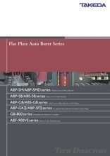 Flat Plate Auto Borer Series 『ABP Series』
