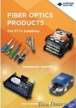 FIBER OPTICS PRODUCTS For FTTx Solutions
