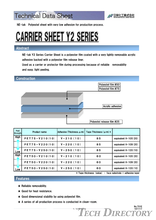 CARRIER SHEET Y2 SERIES / NICHIEI KAKOH