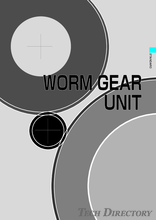 WORM GEAR UNIT