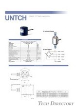 "PRESS FITTING LOAD CELL ""UNTCH"""