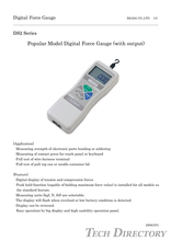 Digital force gauge - Economy type  Series DS2