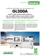 Máy Ép nhựa Sodick (Injection Molding Machine - IMM). Model: GL200A