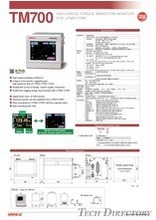 "TORQUE MONITOR FOR UTMⅡ/UTMV ""TM700"""
