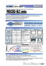 "NE-tak Antifouling and anti-fingerprint property hard coat protective film ""PROCEED-BLC Series"""
