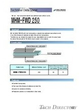 "NE-tak High transparent double face adhesive tapes without carrier. ""MHM-FWD250"""