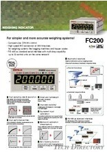 "WEIGHING INDICATOR ""FC200"""