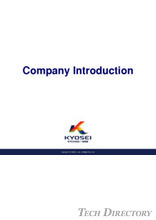 KYOSEI FACTORY THAILAND COMPANY INTRODUCTION